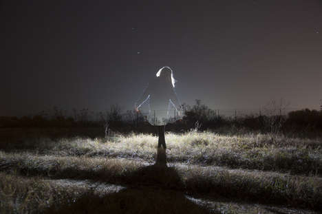 Ghostly Silhouette Photography