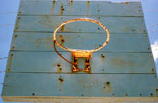 Neglected Hoop Photography - Adrian Skenderovic Captures Abandoned Basketball Courts in the Jungle
