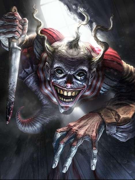 Murderous Detailed Demon Illustrations