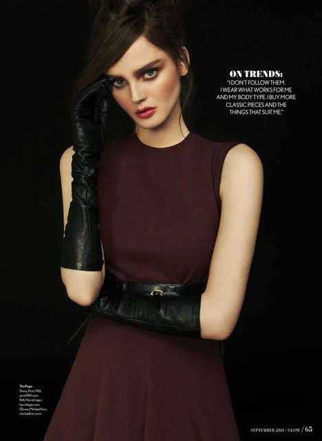 Darkly Glamorous Editorials