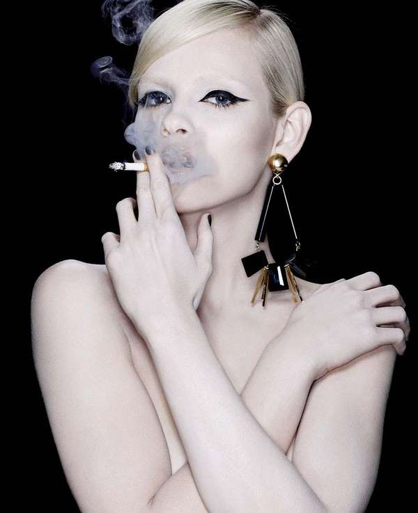 32 Edgy Smoker Fashion Shoots