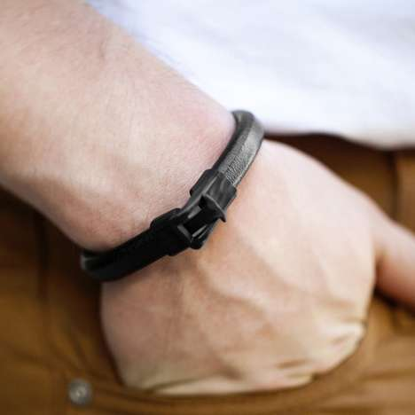 Masculine Belted Wristbands