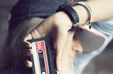 Cassette Smartphone Cases - This Cassette Phone Case Makes Your Modern iPhone Look Super Retro