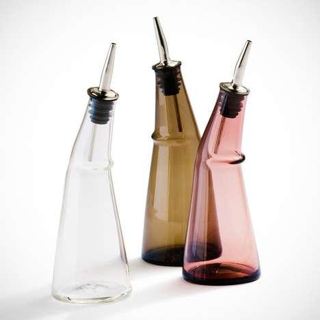 Asymmetrical Glass Dispensers