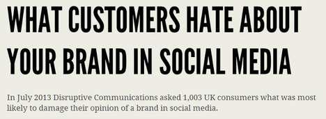 Media Marketing Misstep Charts