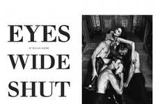 Secret Society Editorials - Prestige International 'Eyes Wide Shut' is Full of Dark Sensuality