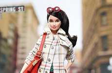 High Fashion Doll Portraits - This Coach Barbie Looks Chic and Stylish in the Designer Label