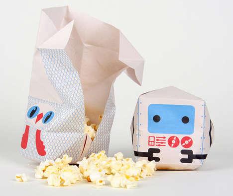 Playful Popcorn Pinatas