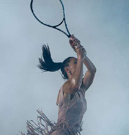 19 Tennis-Themed Photoshoots
