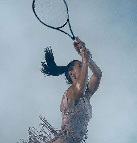 19 Tennis-Themed Photoshoots