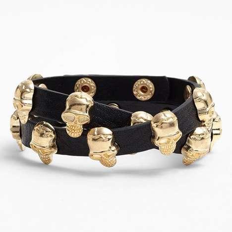 Sassy-Chic Skull Bracelets