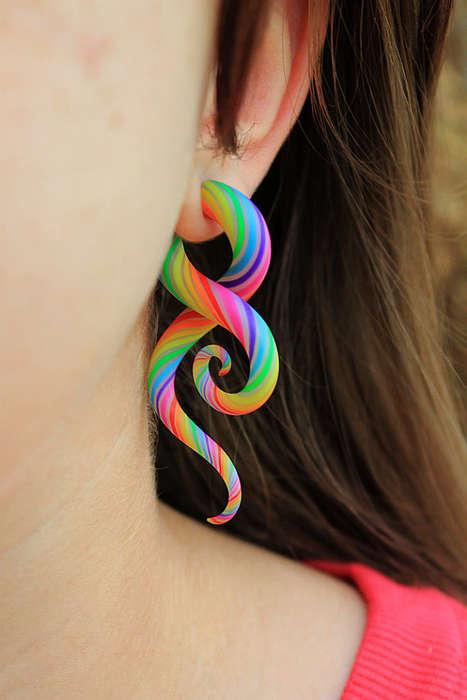 Tentacled Earrings