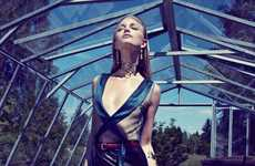 Chic Greenhouse Editorials - Photographer Kawa H Pour Shows Elegance in Greenery