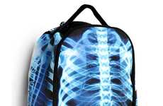Rad Radiological Rucksacks - This X-Ray Backpack Design Makes School Less Scary