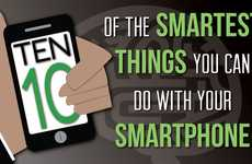 Cellphone Capability Charts - Discover 10 Smart Things to Do with a Smartphone Today