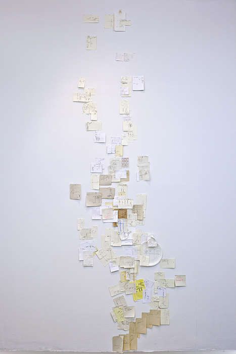 Sticky Note Maps - Nobutaka Aozaki is Creating a Map of Manhattan Using Only Paper Notes