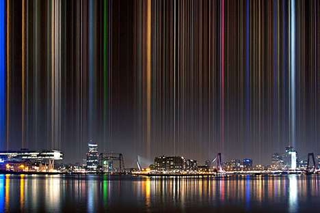 Geometric Skyline Photography