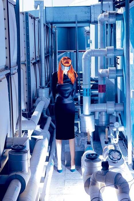 Futuristic Factory Editorials