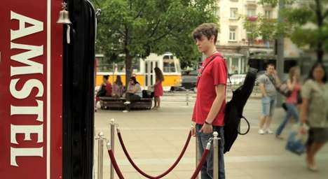 Break-Encouraging Vending Machines - This Beer Vending Machine Rewards Patrons Who Do Nothing