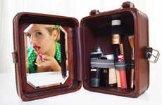 Custom Cosmetic Carry-Ons - Take Makeup on the Go with This Traveling Vanity and Makeup Bag