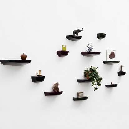 Architectural Utilitarian Shelves