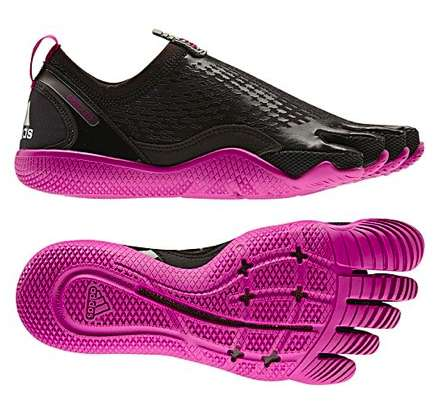 Barefoot-Mimicking Footwear - The AdiPure Training Shoes are Perfect for Avid Runners