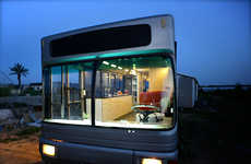 Luxury Public Transit Homes - This Upcycling Project Revamps an Abandoned Vehicle into a Bus Home