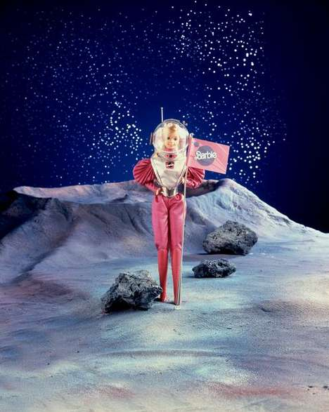Empowered Astronaut Barbies