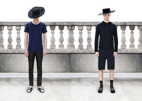 Amish Hipster Apparel - The Domingo Rodriguez Spring/Summer Lookbook Embraces Minimalism