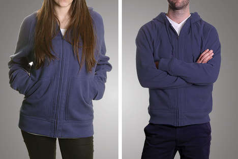 Life-Lasting Apparel - Flint and Tinder Offer a Hoodie to Last a Lifetime