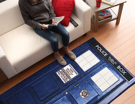 Soft Time-Travelling Rugs