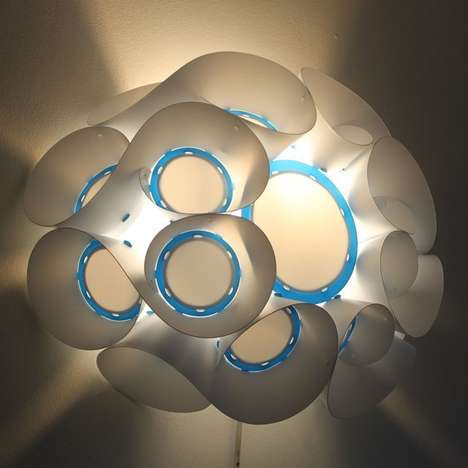Reef-Inspired Wall Lights