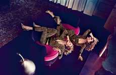 Vibrantly Edgy Fashion Ads - The Juicy Couture Fall Campaign Incorporates Social Media