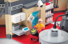 Meth Lab Building Block Sets - The Breaking Bad Lego Lab Playset isn't Quite Designed for Children