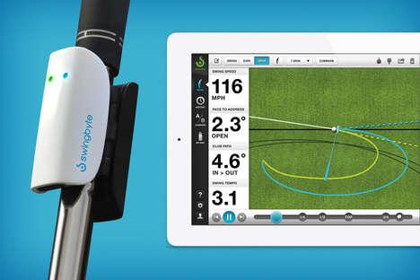 Swing-Improving Golfclub Attachments