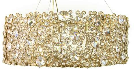 Whimsically Bright Light Fixtures : Artemis Chandelier