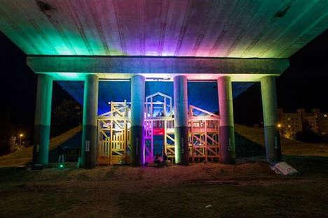 Abandoned Bridge Party Zones