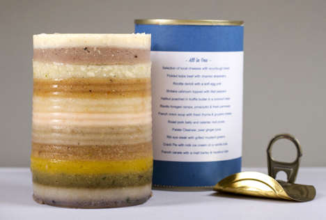 Decadent Zombie Apocalypse Food - 12-Course Feast In a Can is There for You When the World Ends