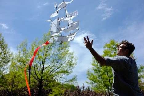 Double-Masted Boat Kites