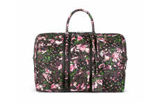 Pattern Splattered Carryalls