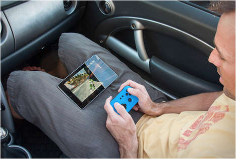 Tablet Gaming Controllers - The Drone Controller is Bluetooth-Enabled for Gaming On-the-Go