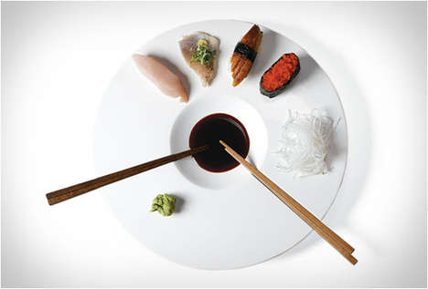 Japanese Cuisine-Oriented Plates
