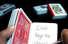 Deceiving Card Deck Diaries - This Playing Card Notebook Helps with Reminders and Pranks