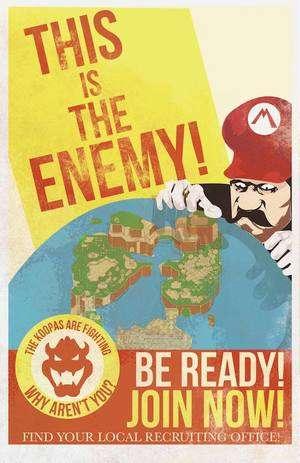 Geeky Propaganda Posters
