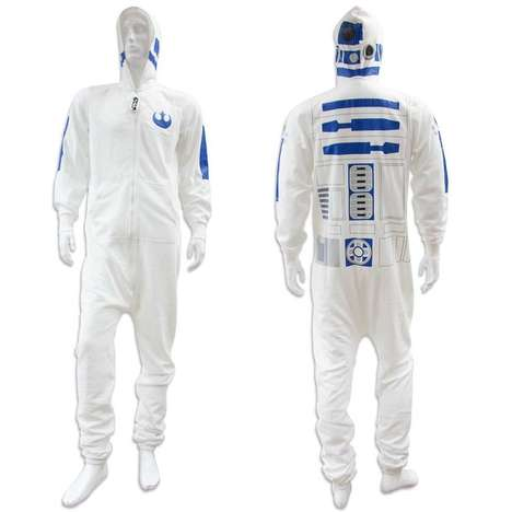 Sci-Fi Robot Onesies - The 'Star Wars R2-D2 Adult Onesie' is the Perfect Way to Lounge Around