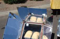 Solar Generated Stoves - The Sun Oven Will Keep Your Food Warm and Keep you Cool