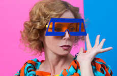 Pop-Art Eyewear Ads - The Agatha Ruiz de la Prada Summer Campaign Embraces Color