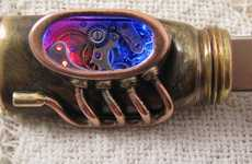 Glowing Steampunk Flash Drives