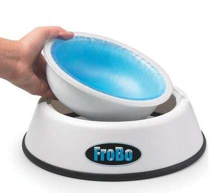 Liquid-Cooling Dog Bowls