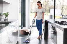 Vacuum-Powered Mops - The Dyson 'Hard DC57' Cordless Vacuum Sucks While Wiping
